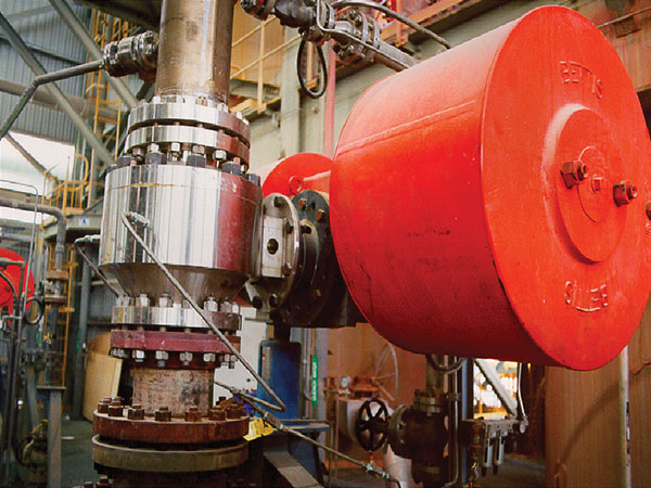 MOGAS' patented coating is a critical component to dependability of valve performance.